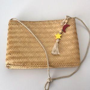 Vintage Vanessa for Fashion Imports Straw Bag